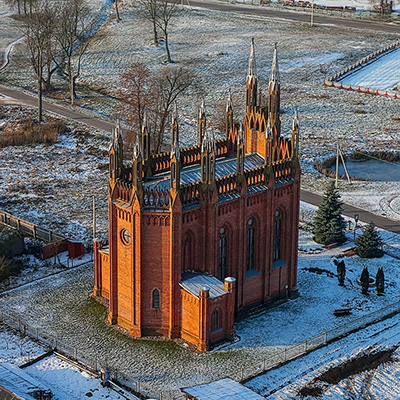 ALONG ANCIENT COUNTRY ESTATES AND TEMPLES OF THE NORTH OF BELARUS